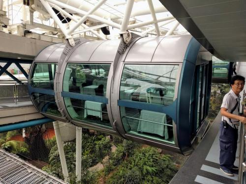 Singapore Flyer dining capsule