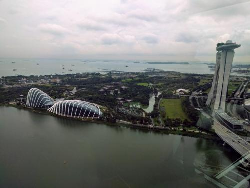 View of the Gardens by the Bay